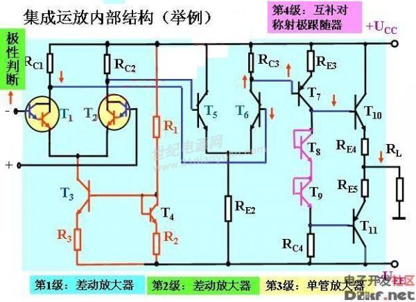 "xw:这是""标准的""运放电路了,不能用单电源供电?"