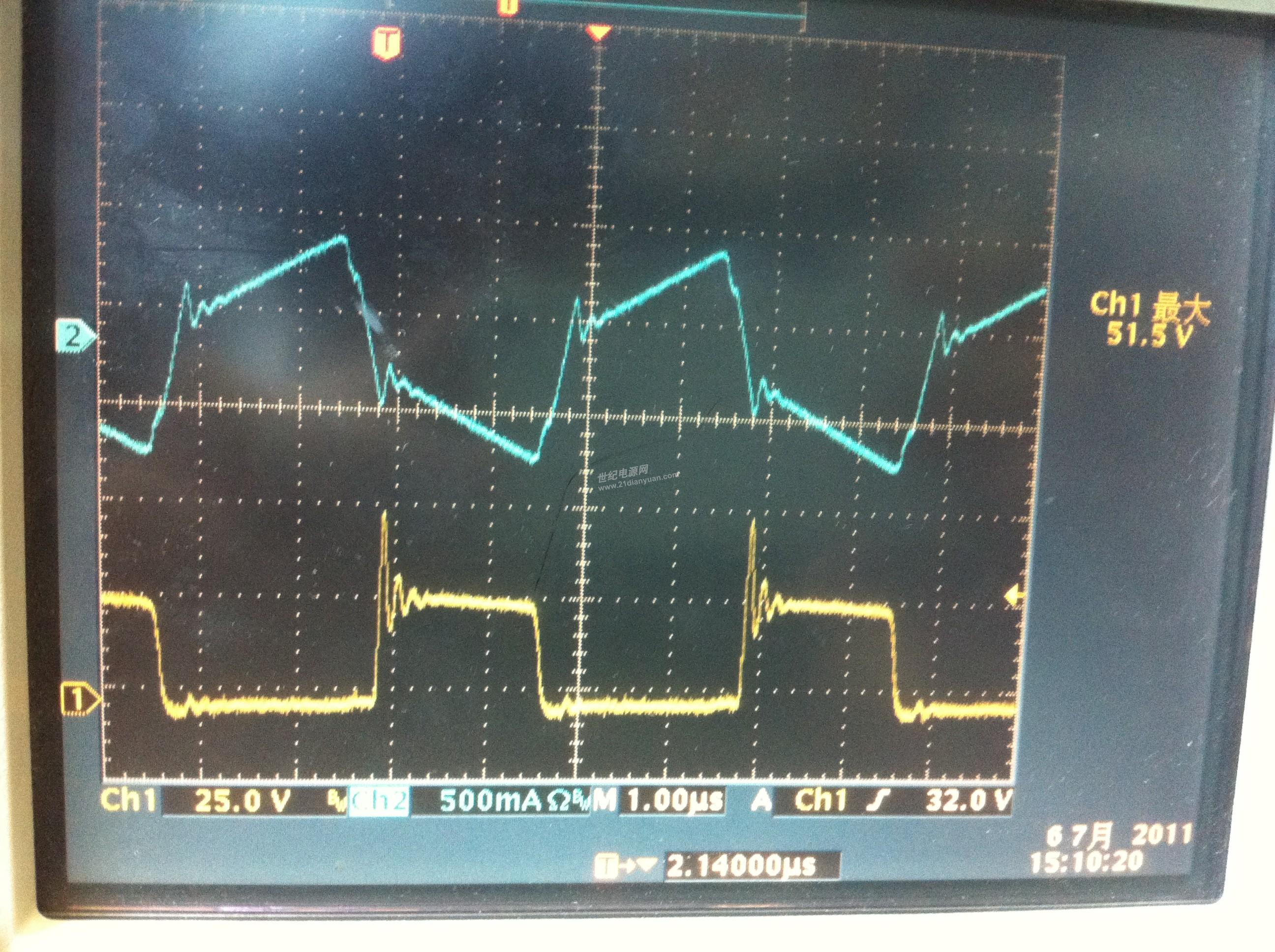 求助llc半桥谐振电容波形