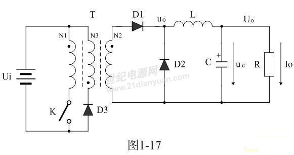 正激式变压器开关电源工作原理_锂电池充电器|铅酸蓄