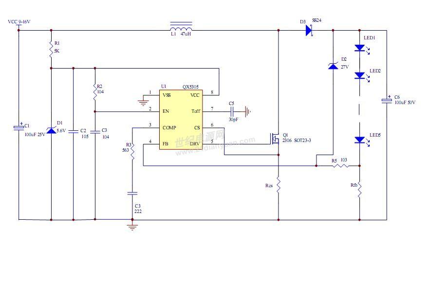 求助:12v输入,700ma输出的led驱动电路怎么设计?