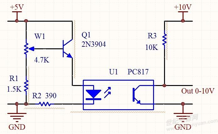 9v-0直流信号,这个我在一个led调光台灯有关的电路中有用,已会.
