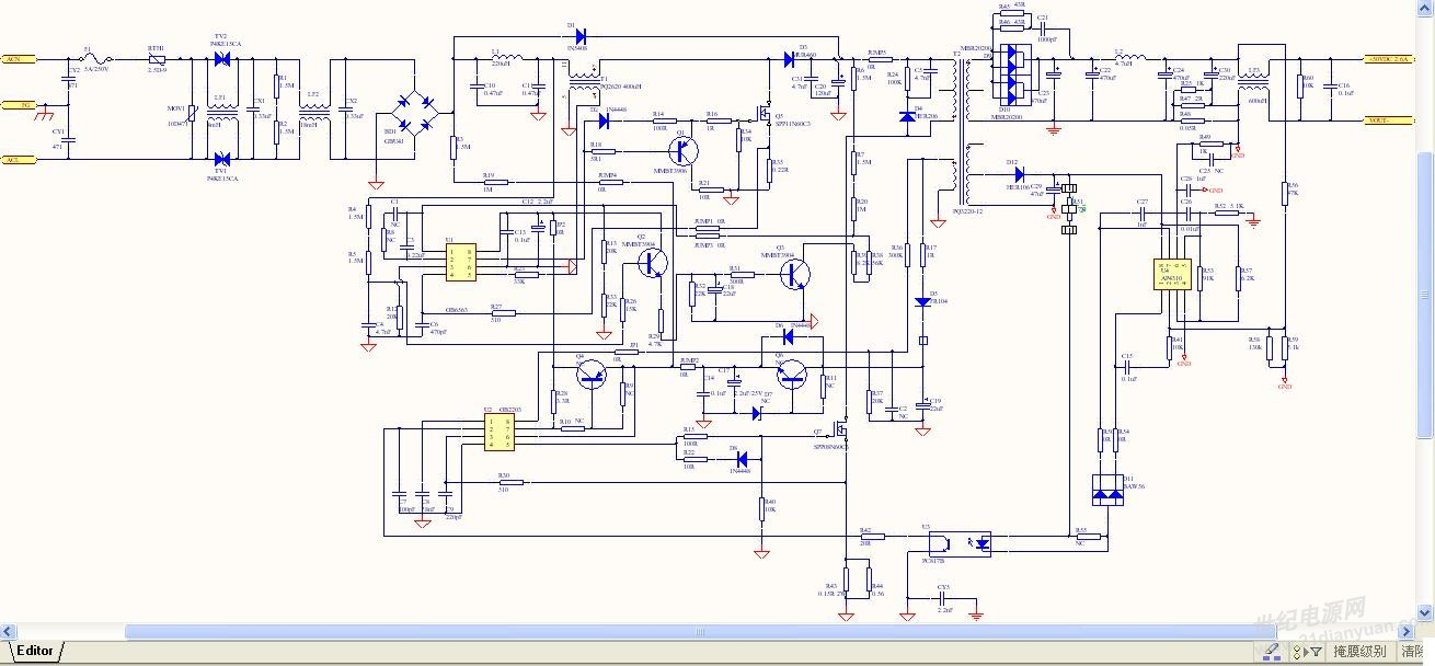 兄弟做的一款ob6563 bo2203恒流电源,带cv负载3分钟内,输出电流会从2.