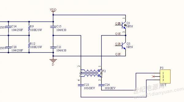 电路通过的电流应该在3a左右;但是高压直流和低压