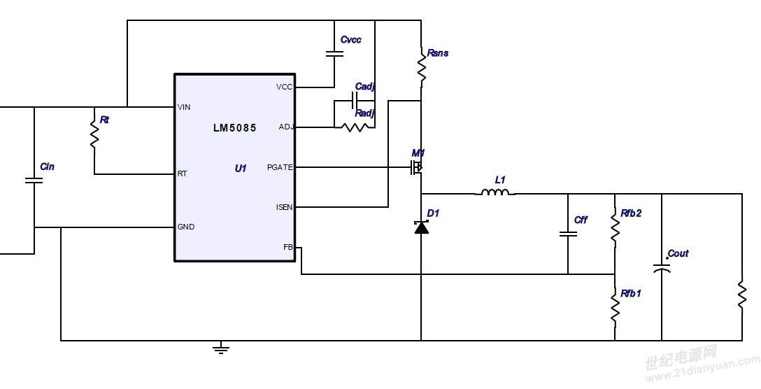 buck电路的输出电压问题