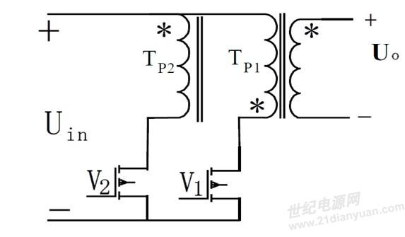 120w推挽变换器电路图