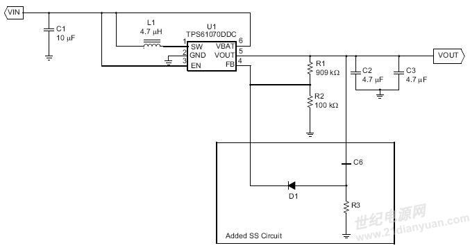 pdf 资源优点:在电池供电的系统中,如果不加软启动电路,开机会有很大