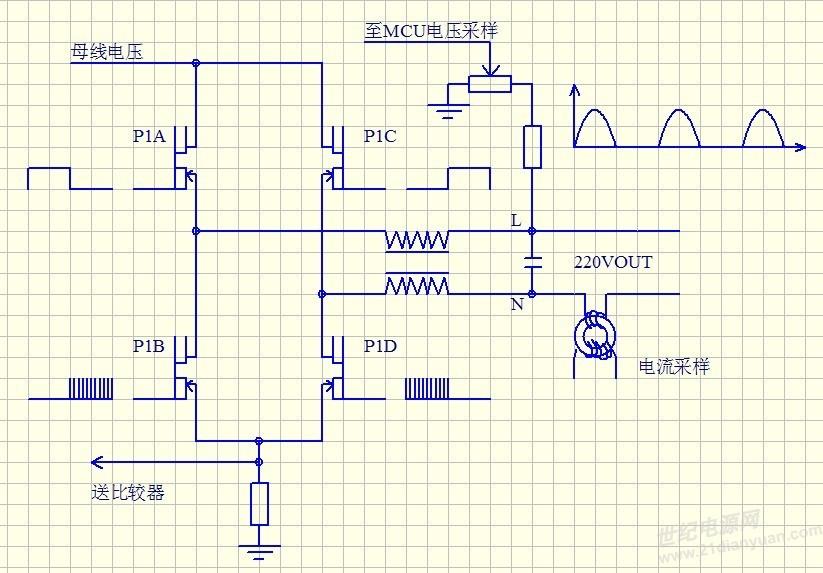 逆变器电压采样的问题