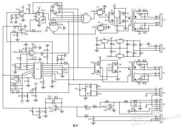 5脚为误差信号电压输入端,5脚6脚和7脚内部为一运放电路,5脚为该运放