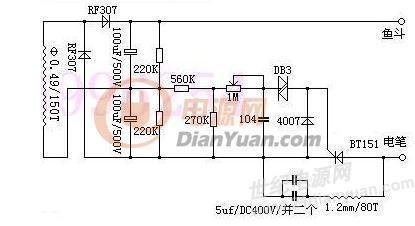 电路 电路图 电子 原理图 415_226