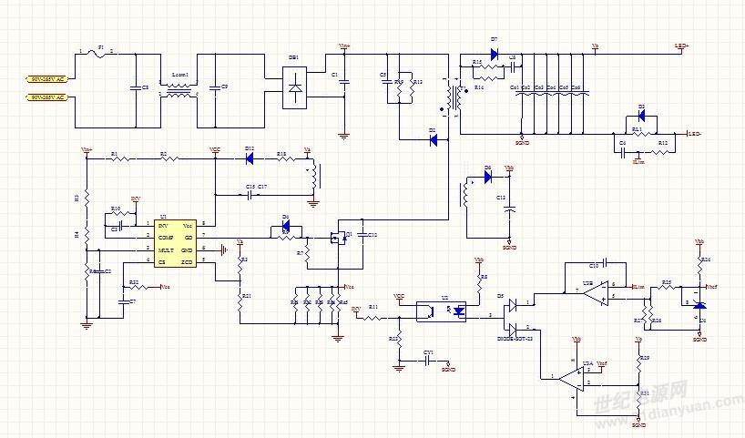 单级pfc快速启动电路
