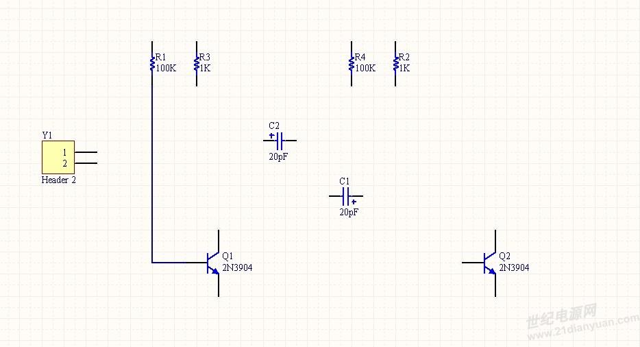 帮忙连接下多谐振荡器电路图_电源论坛_世纪电源网