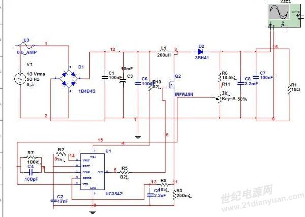 电路 电路图 电子 原理图 600_427