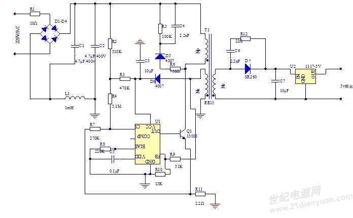 看到一个电路图:如下图,但是我不知道怎么计算lc振荡器的截止频率