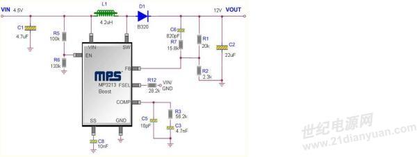 使用mps公司的mp3213dh调试5v输入12v输出500ma电路遇到奇怪的问题