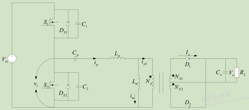 llc电路,变压器和谐振电感的疑惑?