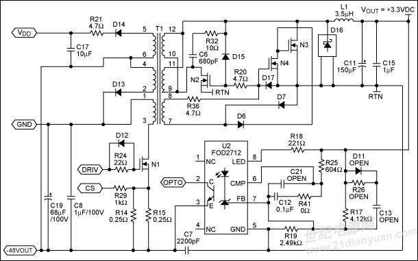 美信cs8361电路图