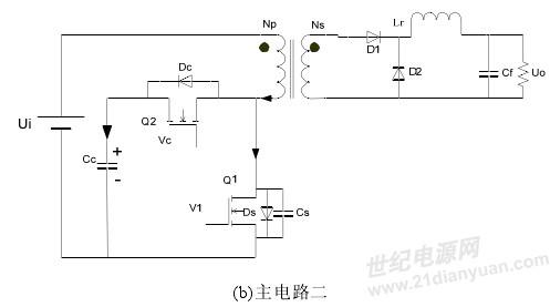 历届会议资料       根据箝位电容位置的不同有源箝位正激转换器有