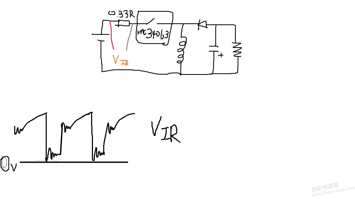 mc34063 波形求助