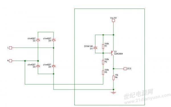主题: 高精度交流过零检测电路