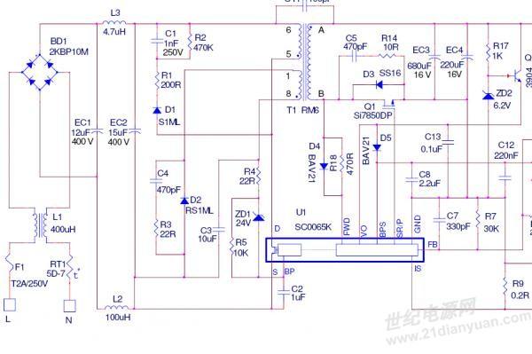 jzx861芯片电路图