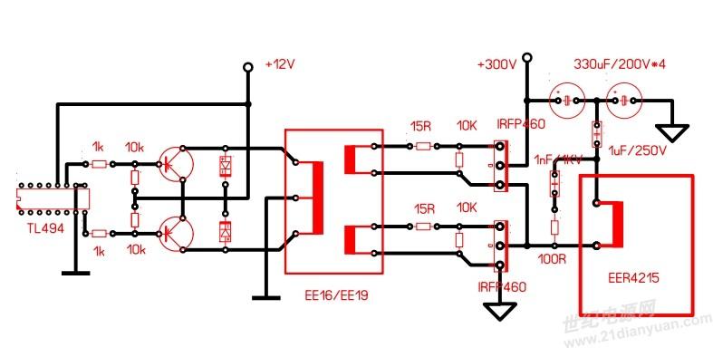 3525加358驱动电路图-3525驱动小板电路图_3525驱动加图片