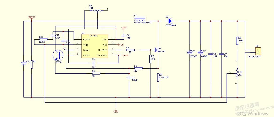 电路 电路图 电子 户型 户型图 平面图 原理图 1167_500