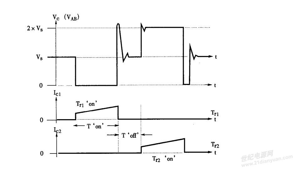 推挽dc-dc升降压变换器/变压器波形与疑问