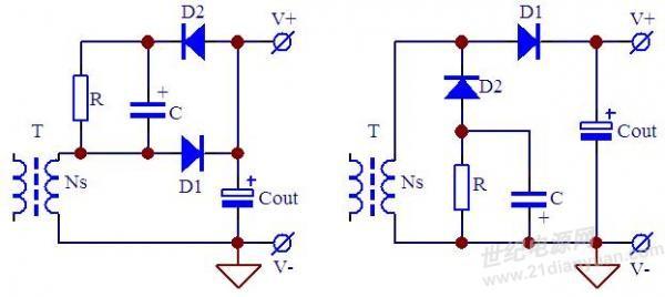rc及rcd电路举例分析