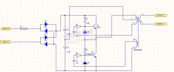 电子变压器的原理图_电源论坛_世纪电源网