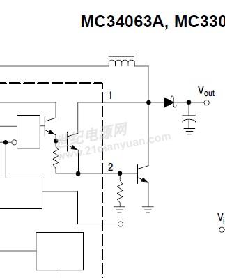 mc34063升压电路问题