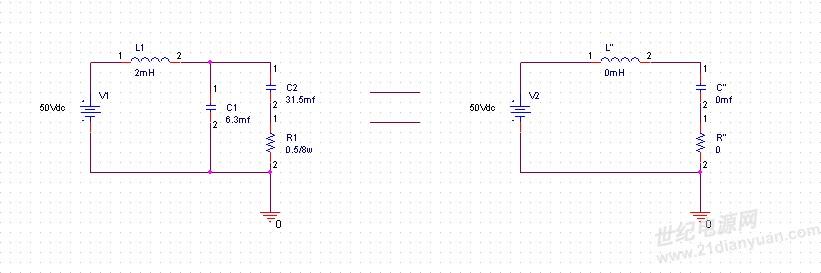 在一般最简单的rlc串联电路中,经过详细的理论推导后,可得出,当r>2