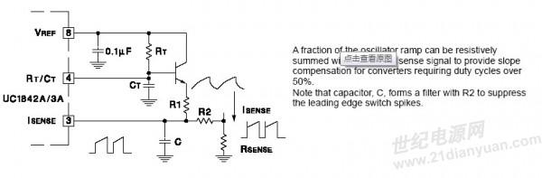 3844,单端正激电路请教,波形不稳~-综合电源技术-世纪