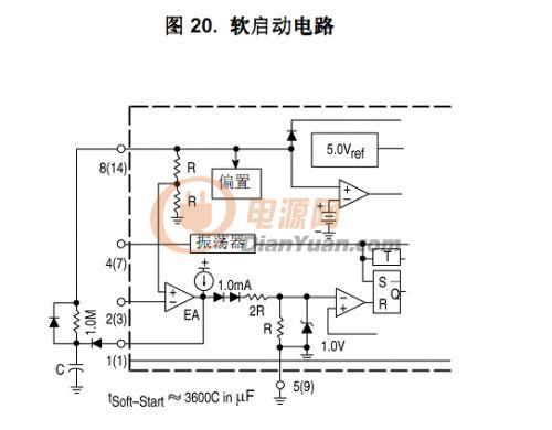 反激3843软启动电路 原理,参数选择-综合电源技术-网
