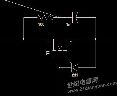 mos管rc缓冲电路设计_电源论坛_世纪电源网