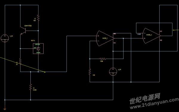 具体方法是用一个tl431构建一个恒流源,然后通过待测电阻,再用运放