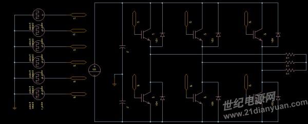 三相电压式逆变电路(新手求指教)-光伏/逆变/ups/变频